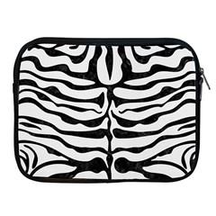 Skin2 Black Marble & White Linen Apple Ipad 2/3/4 Zipper Cases