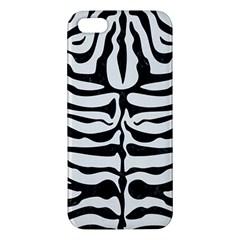 Skin2 Black Marble & White Linen Iphone 5s/ Se Premium Hardshell Case