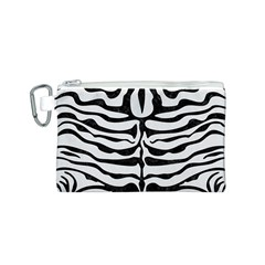 Skin2 Black Marble & White Linen Canvas Cosmetic Bag (s)