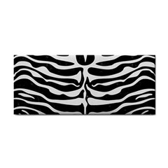 Skin2 Black Marble & White Linen (r) Cosmetic Storage Cases