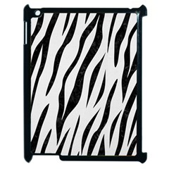 Skin3 Black Marble & White Linen Apple Ipad 2 Case (black)