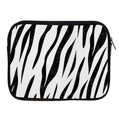 Skin3 Black Marble & White Linen Apple Ipad 2/3/4 Zipper Cases
