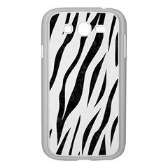 Skin3 Black Marble & White Linen Samsung Galaxy Grand Duos I9082 Case (white)