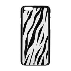 Skin3 Black Marble & White Linen Apple Iphone 6/6s Black Enamel Case