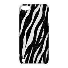 Skin3 Black Marble & White Linen (r) Apple Ipod Touch 5 Hardshell Case With Stand