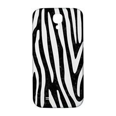 Skin4 Black Marble & White Linen Samsung Galaxy S4 I9500/i9505  Hardshell Back Case