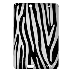 Skin4 Black Marble & White Linen Amazon Kindle Fire Hd (2013) Hardshell Case