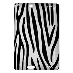 Skin4 Black Marble & White Linen (r) Amazon Kindle Fire Hd (2013) Hardshell Case