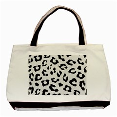 Skin5 Black Marble & White Linen (r) Basic Tote Bag (two Sides)