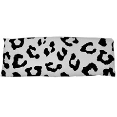 Skin5 Black Marble & White Linen (r) Body Pillow Case Dakimakura (two Sides)