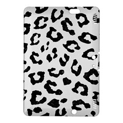 Skin5 Black Marble & White Linen (r) Kindle Fire Hdx 8 9  Hardshell Case
