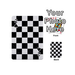 Square1 Black Marble & White Linen Playing Cards 54 (mini)