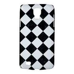 Square2 Black Marble & White Linen Galaxy S4 Active