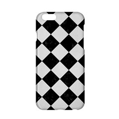 Square2 Black Marble & White Linen Apple Iphone 6/6s Hardshell Case