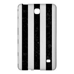 Stripes1 Black Marble & White Linen Samsung Galaxy Tab 4 (8 ) Hardshell Case