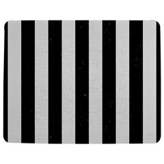 Stripes1 Black Marble & White Linen Jigsaw Puzzle Photo Stand (rectangular)