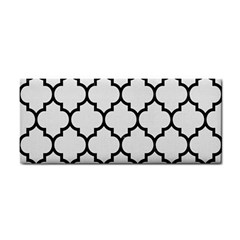 Tile1 Black Marble & White Linen Cosmetic Storage Cases