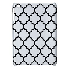 Tile1 Black Marble & White Linen Apple Ipad Mini Hardshell Case