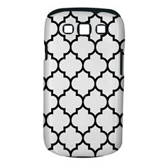 Tile1 Black Marble & White Linen Samsung Galaxy S Iii Classic Hardshell Case (pc+silicone)