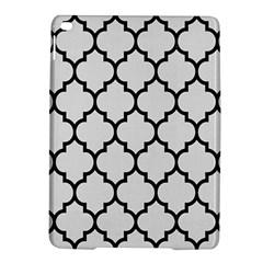 Tile1 Black Marble & White Linen Ipad Air 2 Hardshell Cases