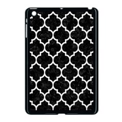 Tile1 Black Marble & White Linen (r) Apple Ipad Mini Case (black)