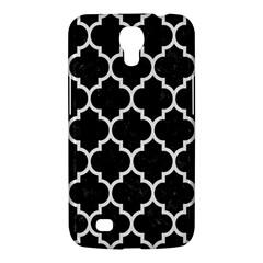 Tile1 Black Marble & White Linen (r) Samsung Galaxy Mega 6 3  I9200 Hardshell Case