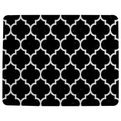 Tile1 Black Marble & White Linen (r) Jigsaw Puzzle Photo Stand (rectangular)