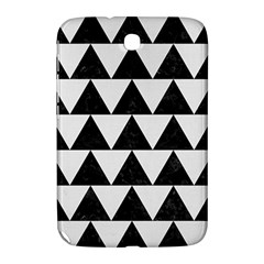 Triangle2 Black Marble & White Linen Samsung Galaxy Note 8 0 N5100 Hardshell Case
