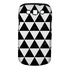 Triangle3 Black Marble & White Linen Samsung Galaxy S Iii Classic Hardshell Case (pc+silicone)