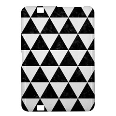 Triangle3 Black Marble & White Linen Kindle Fire Hd 8 9