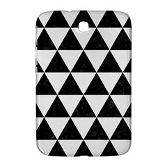 Triangle3 Black Marble & White Linen Samsung Galaxy Note 8 0 N5100 Hardshell Case