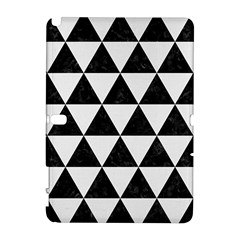 Triangle3 Black Marble & White Linen Galaxy Note 1