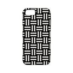 Woven1 Black Marble & White Linen (r) Apple Iphone 5 Classic Hardshell Case (pc+silicone)