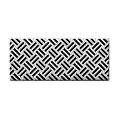 Woven2 Black Marble & White Linen Cosmetic Storage Cases