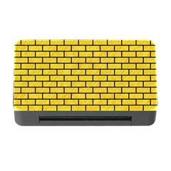 Brick1 Black Marble & Yellow Colored Pencil Memory Card Reader With Cf