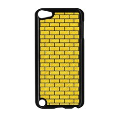 Brick1 Black Marble & Yellow Colored Pencil Apple Ipod Touch 5 Case (black)