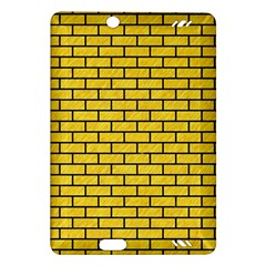 Brick1 Black Marble & Yellow Colored Pencil Amazon Kindle Fire Hd (2013) Hardshell Case