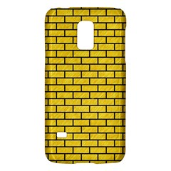Brick1 Black Marble & Yellow Colored Pencil Galaxy S5 Mini