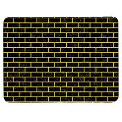 Brick1 Black Marble & Yellow Colored Pencil (r) Samsung Galaxy Tab 7  P1000 Flip Case