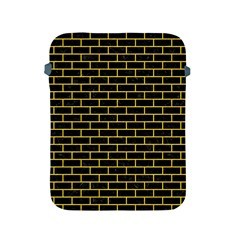 Brick1 Black Marble & Yellow Colored Pencil (r) Apple Ipad 2/3/4 Protective Soft Cases
