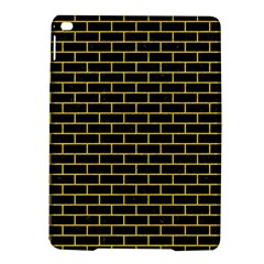 Brick1 Black Marble & Yellow Colored Pencil (r) Ipad Air 2 Hardshell Cases
