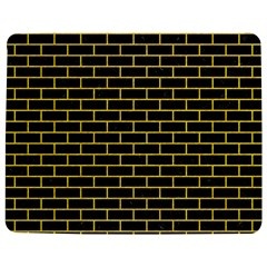 Brick1 Black Marble & Yellow Colored Pencil (r) Jigsaw Puzzle Photo Stand (rectangular)
