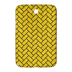 Brick2 Black Marble & Yellow Colored Pencil Samsung Galaxy Note 8 0 N5100 Hardshell Case