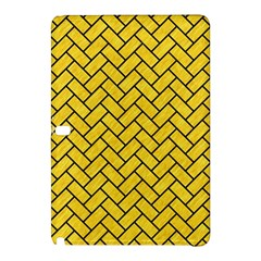 Brick2 Black Marble & Yellow Colored Pencil Samsung Galaxy Tab Pro 12 2 Hardshell Case