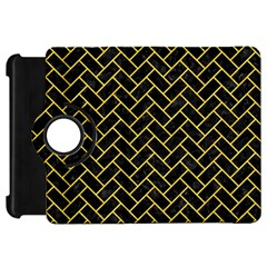 Brick2 Black Marble & Yellow Colored Pencil (r) Kindle Fire Hd 7