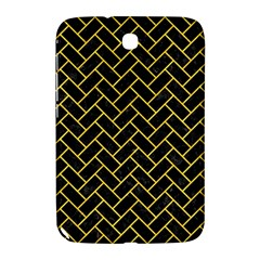 Brick2 Black Marble & Yellow Colored Pencil (r) Samsung Galaxy Note 8 0 N5100 Hardshell Case