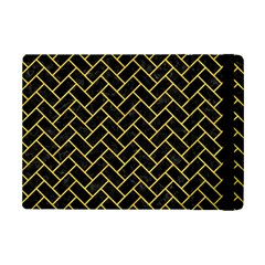 Brick2 Black Marble & Yellow Colored Pencil (r) Ipad Mini 2 Flip Cases