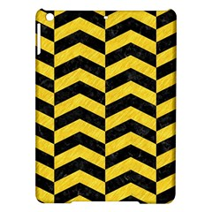 Chevron2 Black Marble & Yellow Colored Pencil Ipad Air Hardshell Cases
