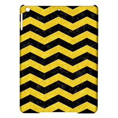 Chevron3 Black Marble & Yellow Colored Pencil Ipad Air Hardshell Cases