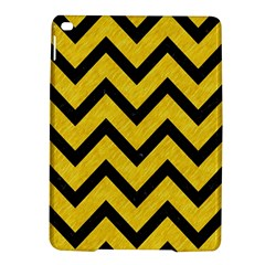 Chevron9 Black Marble & Yellow Colored Pencil Ipad Air 2 Hardshell Cases